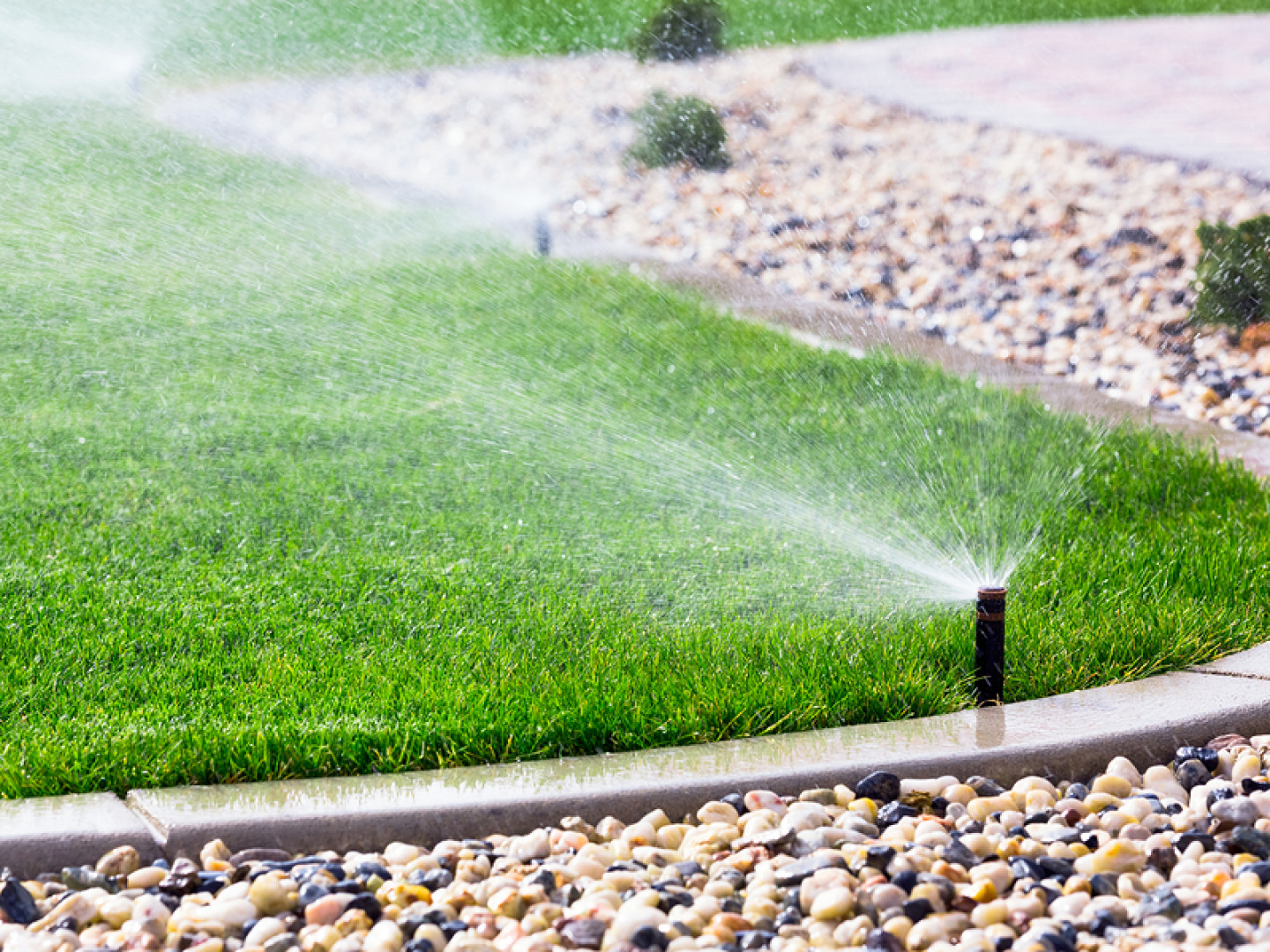Irrigation is key to keeping your lawn looking green!